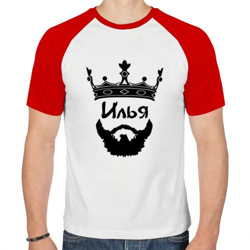 Мужская футболка реглан  Фото 01, Илья
