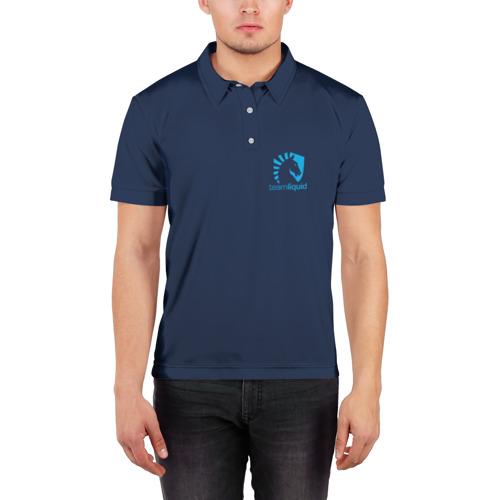 Мужская рубашка поло 3D  Фото 03, Team Liquid Uniform