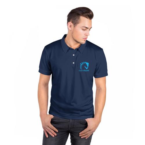 Мужская рубашка поло 3D  Фото 05, Team Liquid Uniform