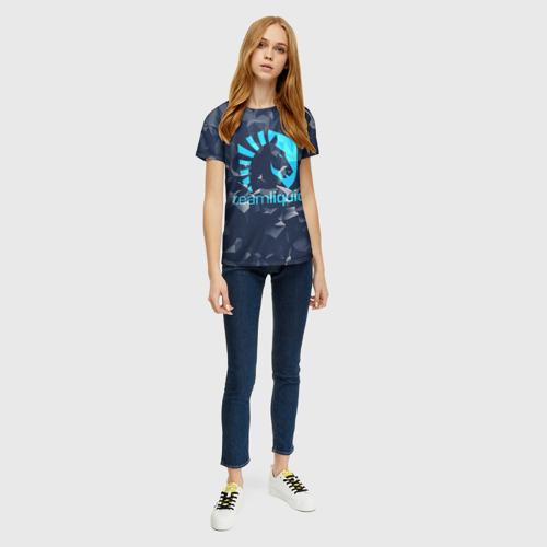 Женская футболка 3D Team Liquid Uniform Фото 01
