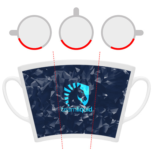 Кружка Латте Team Liquid Uniform Фото 01