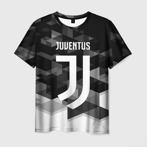Мужская футболка 3D  Фото 03, Juventus 2018 Geometry Sport