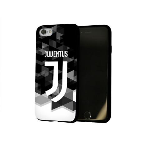 Чехол для Apple iPhone 8 силиконовый глянцевый  Фото 02, Juventus 2018 Geometry Sport