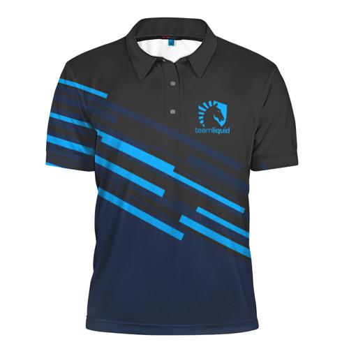 Мужская рубашка поло 3D  Фото 01, Team Liquid Uniform