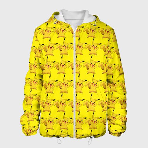 Мужская куртка 3D  Фото 01, Пикачу бомбинг