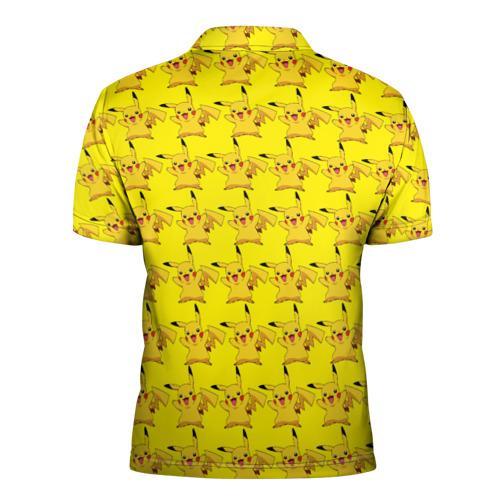 Мужская рубашка поло 3D  Фото 02, Пикачу бомбинг
