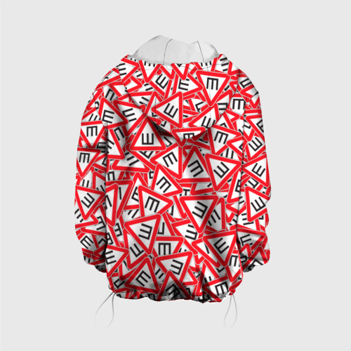 Детская куртка 3D  Фото 02, Шипы. Стикербомбинг