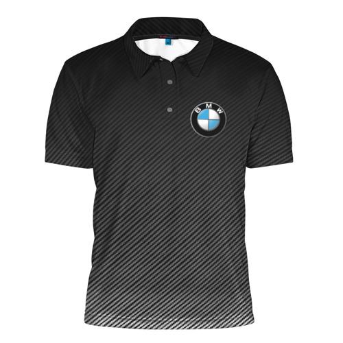 Мужская рубашка поло 3D  Фото 01, BMW CARBON