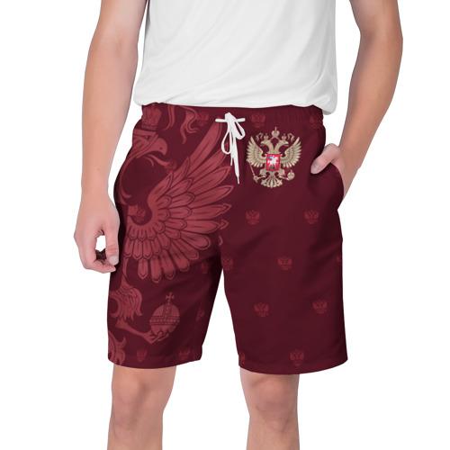 Мужские шорты 3D Герб России