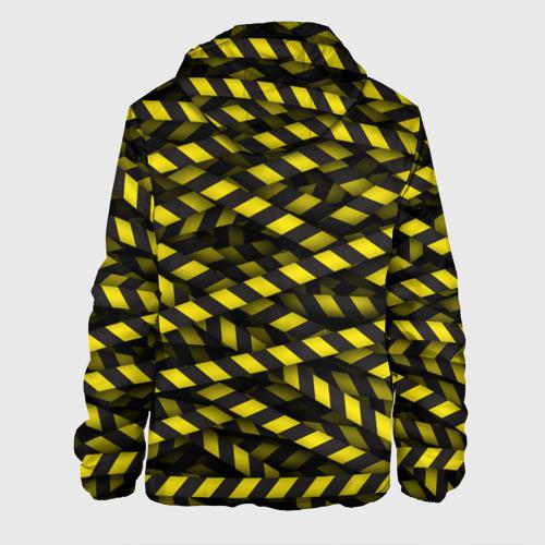 Мужская куртка 3D  Фото 02, Черно-желтая лента