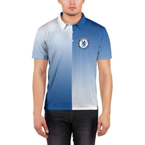 Мужская рубашка поло 3D  Фото 03, Chelsea Uniform