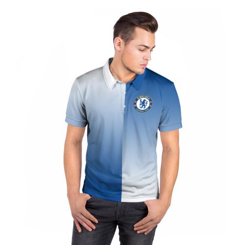 Мужская рубашка поло 3D  Фото 05, Chelsea Uniform