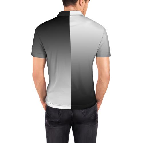 Мужская рубашка поло 3D  Фото 04, BMW M REVERSE