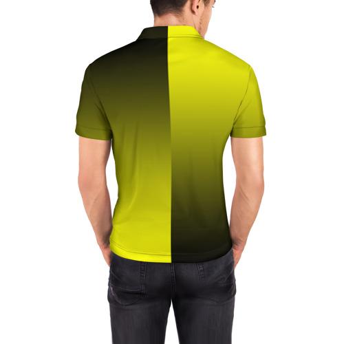 Мужская рубашка поло 3D  Фото 04, FC Borussia 2018 Reverse