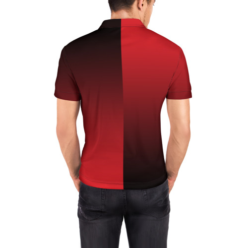 Мужская рубашка поло 3D  Фото 04, F.C.M.U 2018 Reverse