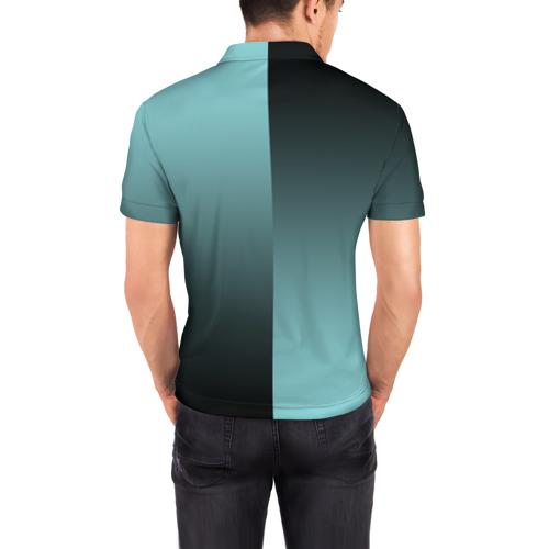 Мужская рубашка поло 3D  Фото 04, Real Madrid 2018 Reverse