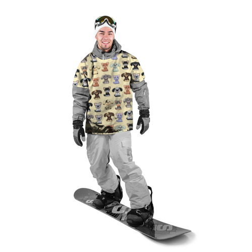 Накидка на куртку 3D  Фото 03, Милые пушистики