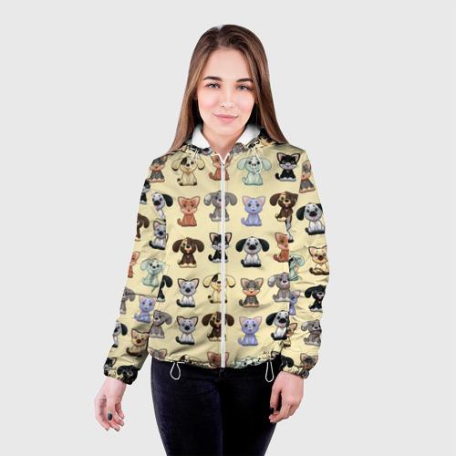 Женская куртка 3D  Фото 03, Милые пушистики