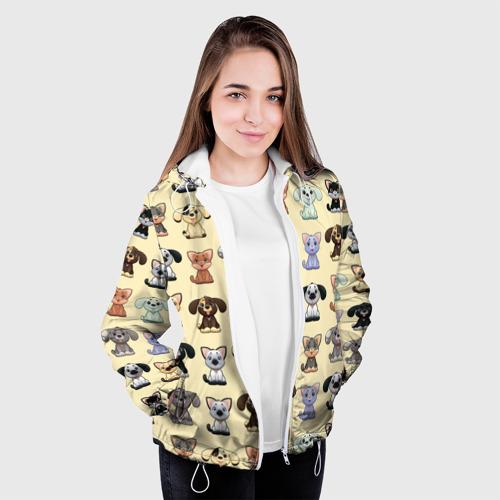Женская куртка 3D  Фото 04, Милые пушистики