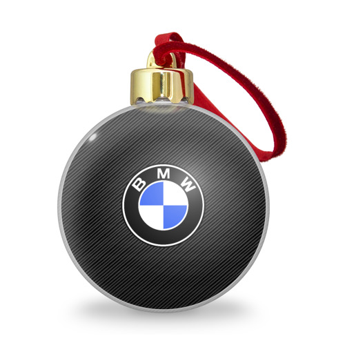 Ёлочный шар с блестками  Фото 01, BMW CARBON