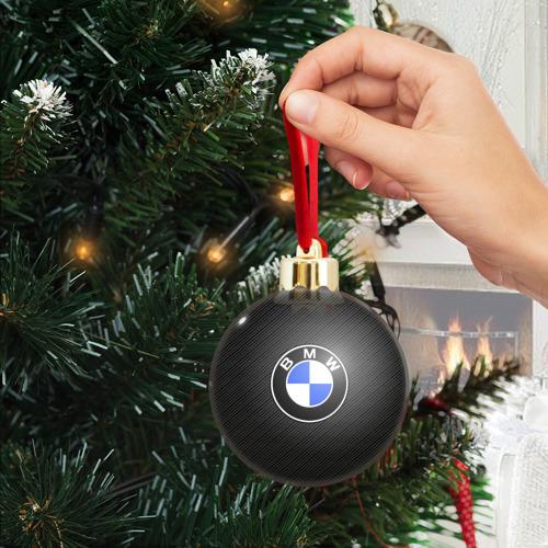 Ёлочный шар с блестками  Фото 04, BMW CARBON