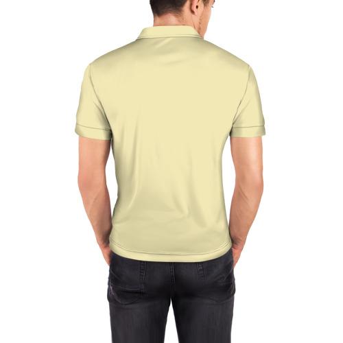 Мужская рубашка поло 3D  Фото 04, Прикольный Санта