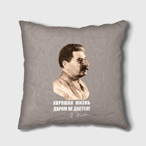 Подушка 3D  Фото 01, Сталин