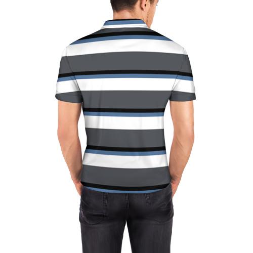 Мужская рубашка поло 3D  Фото 04, Моряк