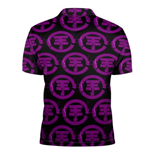 Мужская рубашка поло 3D  Фото 02, TOKIO HOTEL 2018 LOGO BAND