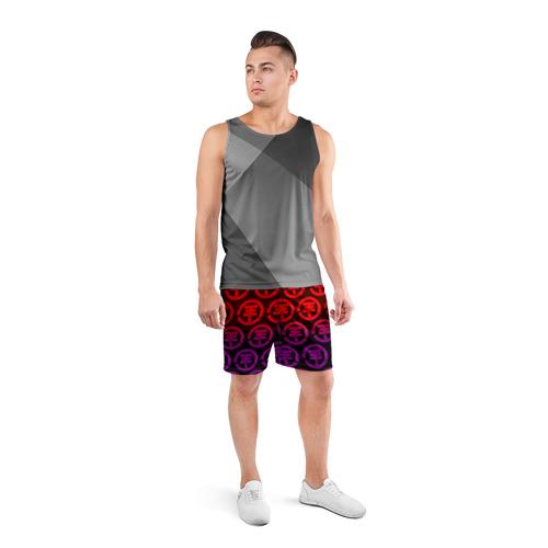 Мужские шорты 3D спортивные  Фото 04, tokio hotel