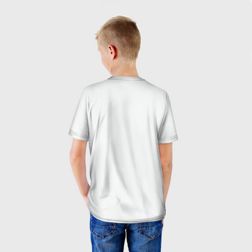 Детская футболка 3D  Фото 02, Джастин тату