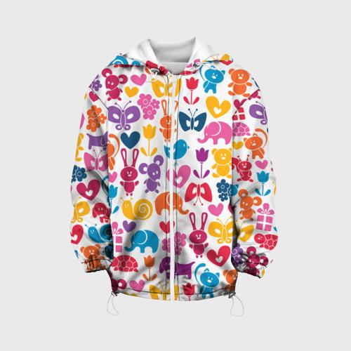 Детская куртка 3D  Фото 01, Веселый зоопарк