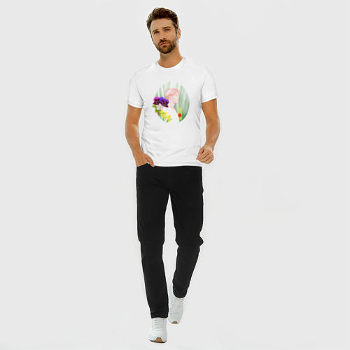 Мужская футболка хлопок Slim BTS_Jimin Фото 01