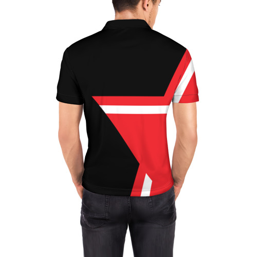 Мужская рубашка поло 3D  Фото 04, AC MILAN STAR