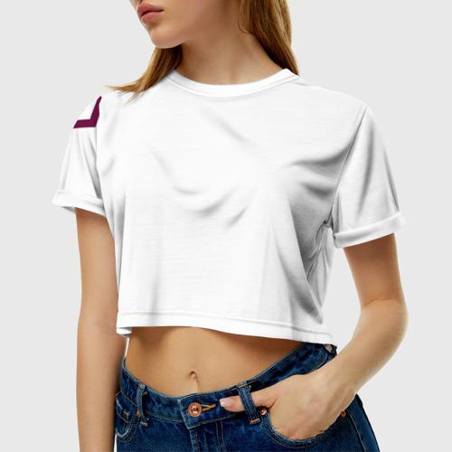Женская футболка 3D укороченная F.C.M.C. 2018 STAR