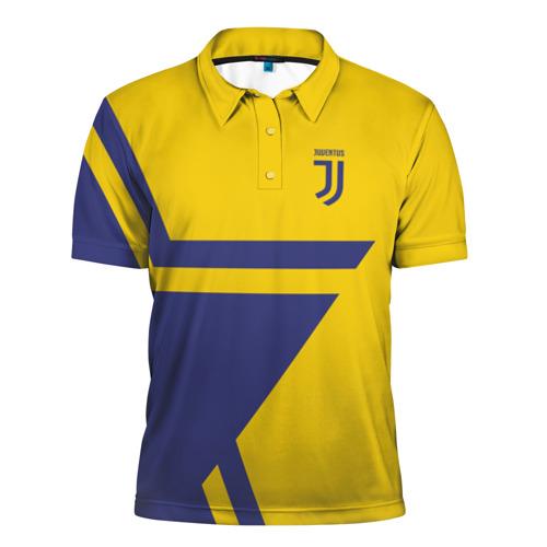 Мужская рубашка поло 3D  Фото 01, Juventus 2018 STAR