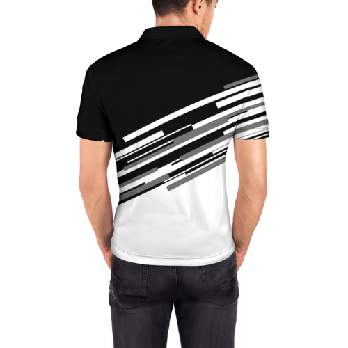 Мужская рубашка поло 3D  Фото 04, Juventus 2018 Line