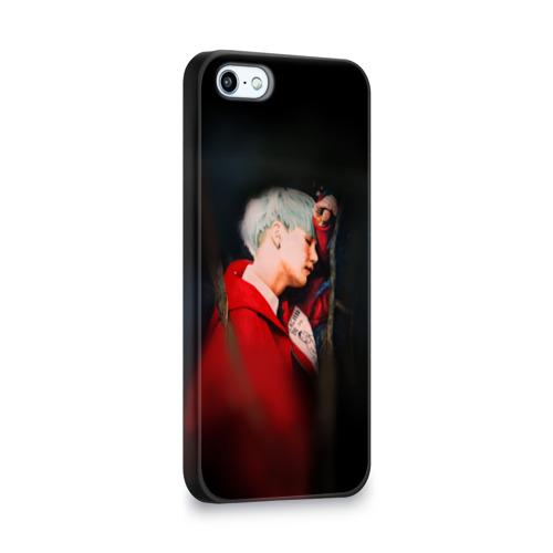 Чехол для Apple iPhone 5/5S 3D  Фото 02, Suga_BTS