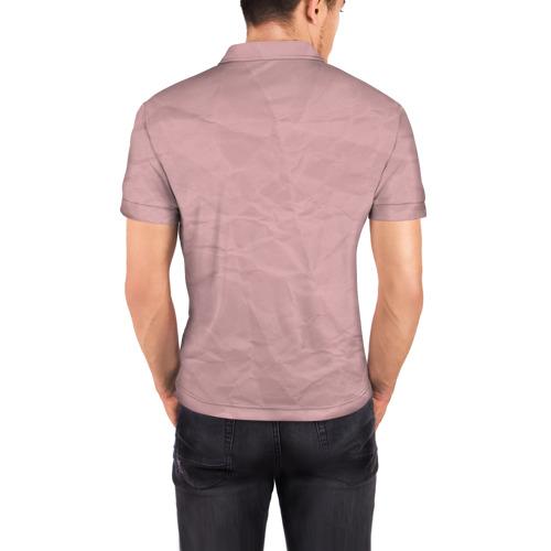 Мужская рубашка поло 3D  Фото 04, BTS _2