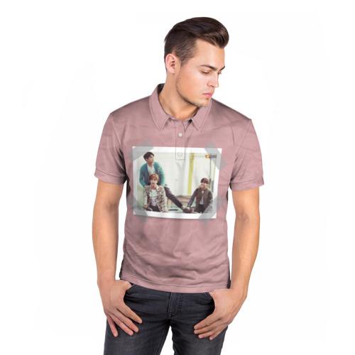 Мужская рубашка поло 3D  Фото 05, BTS _2
