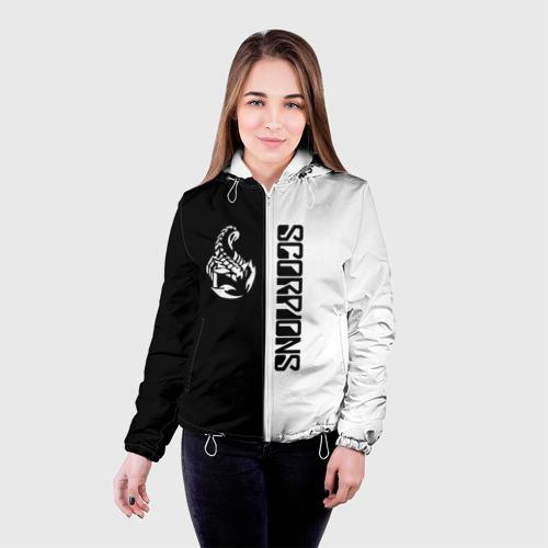 Женская куртка 3D  Фото 03, Scorpions