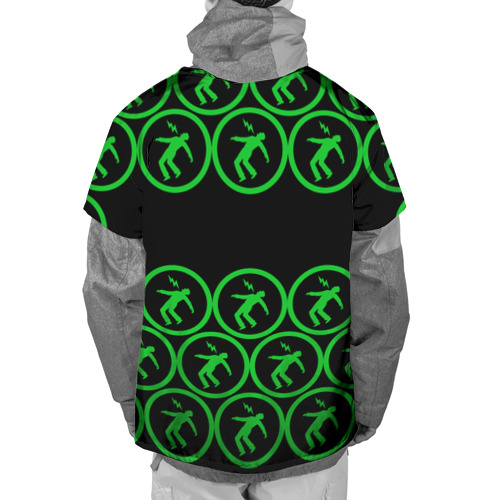 Накидка на куртку 3D  Фото 02, Green day collection rock