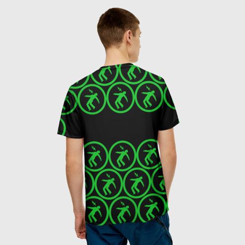 Мужская футболка 3D  Фото 02, Green day collection rock