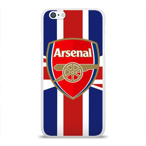 Чехол для Apple iPhone 6Plus/6SPlus силиконовый глянцевый  Фото 01, FC Arsenal