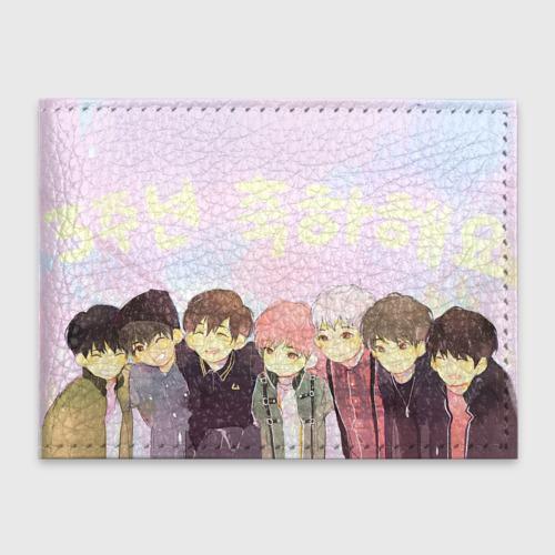 Обложка для студенческого билета  Фото 01, Love BTS