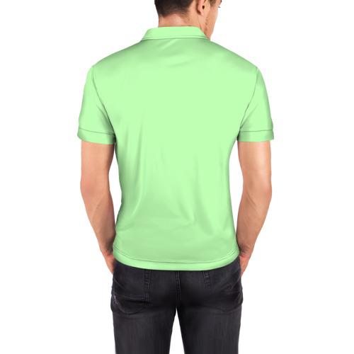Мужская рубашка поло 3D  Фото 04, Немецкая овчарка