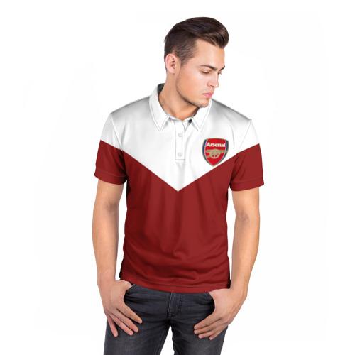 Мужская рубашка поло 3D  Фото 05, Арсенал