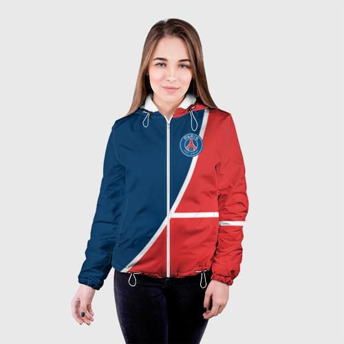 Женская куртка 3D  Фото 03, PSG LOGO
