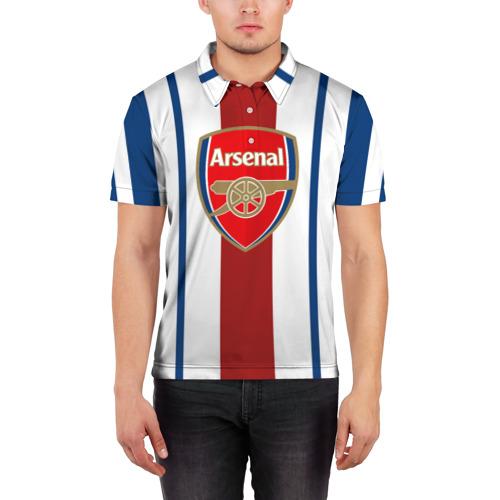 Мужская рубашка поло 3D  Фото 03, Арсенал