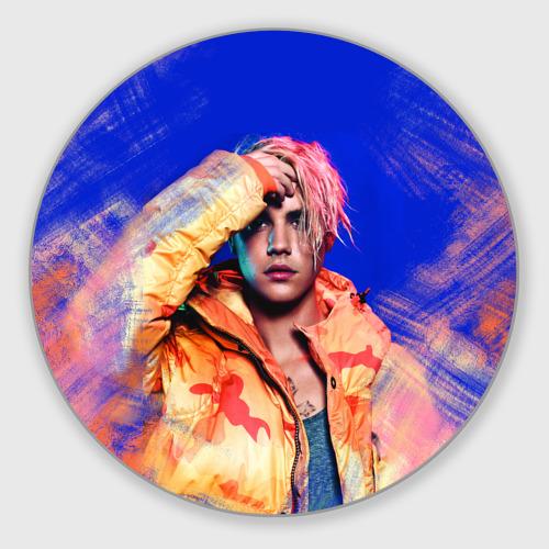 Коврик для мышки круглый  Фото 01, Justin Bieber
